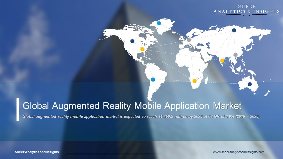 Global Augmented Reality Mobile Application Market CAGR Forecast 2018 - 2025 Sheer Analytics and Insights